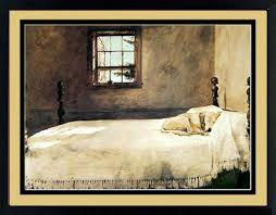 Attractive Amazon.com: Master Bedroom By Andrew Wyeth Dog Sleeping 20x17 Inches:  Posters U0026 Prints