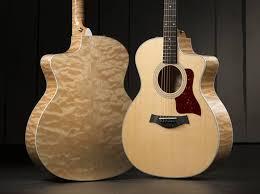 Taylor 214ce-QM-DLX Quilted Maple   Wood & Steel   Pinterest &  Adamdwight.com