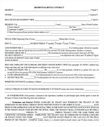 Renting Lease Template Room Rental Agreement View More Rental Lease ...