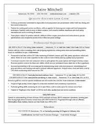 Line Cook Sample Resume Templates Canada Objective Word Doc