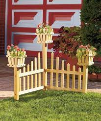 1000 ideas about fence planters on