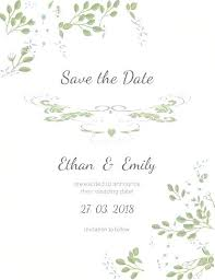 Wedding Invitation Template Publisher Save The Date Publisher Template Wedding Invitation In Adobe