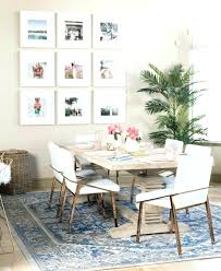 rug under dining room table excellent what size rug under dining table for your residence concept