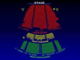 Motown The Musical Seating Chart Lunt Fontanne Theatre Motown 3 D Broadway Seating Chart