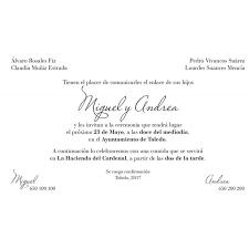 Formatos De Invitaciones De Boda Major Magdalene Project Org