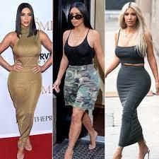 Kim Kardashian's Body Evolution Through the Years