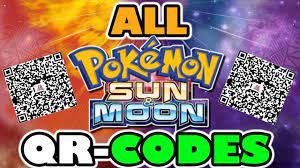 ALL QR-CODES IN POKEMON SUN AND POKEMON MOON! - YouTube