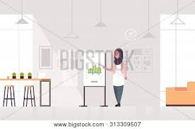 Arab Businesswoman Vector Photo Free Trial Bigstock