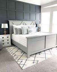 Accent Wall in the Master Bedroom ...