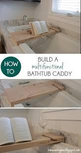 how to build a bathtub caddy home coming for mycraftyspot com
