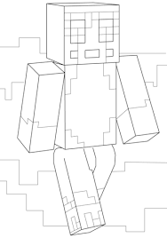 Small Picture Minecraft Stampy coloring page Free Printable Coloring Pages