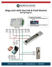 magnetic lock support murphy door mag lock w key fob wiring diagram