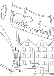 Kleine Ijsbeer Van Boord Kleurplaat Jouwkleurplaten