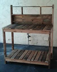 pallet potting bench by bruce from thedesignpallet