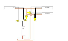 electric heater wiring diagram wiring diagram how to wire your baseboard heater