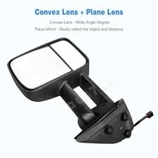 Towing Mirrors for 99-02 Chevy Silverado Sierra 1500/2500/2500HD ...