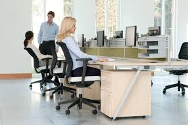 ergonomic office design. Ergonomic Office Furniture Is, In Essence, Comfortable Design Action. The Idea That Modern Should Prevent Stress Or Injury And Promote U