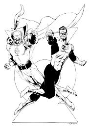 Disegni Da Colorare Di Flash Gordon Fredrotgans