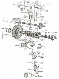 Ford naa jubilee internal engine parts diagram