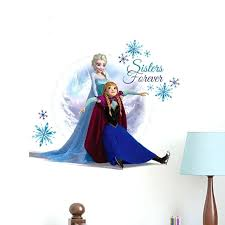 surprising design ideas frozen wall decor decoration decals art and nice decorating kit target frozen wall