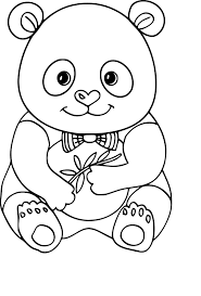 Coloriage Panda Nora Aceval Com