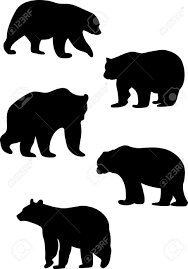 bear silhouette stock photos royalty free bear silhouette images