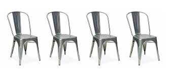 Xavier pauchard french industrial dining room furniture Metal Amazoncom Nicer Furniture Set Of 4stackable Industrial Chic Xavier Pauchard Tolix Style Dining Chair Galvanized Chairs Pinterest Amazoncom Nicer Furniture Set Of 4stackable Industrial Chic