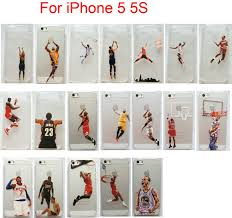 lebron dunking apple logo case. basketball player cases jordan clear case for iphone 5/5s printed 5 on aliexpress.com   alibaba group lebron dunking apple logo