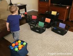 indoor activities for kids. 10 Indoor Ball Games For Kids More Activities S
