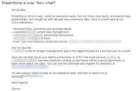 email followup 7 examples of how to spruce up your b2b email follow up for spring