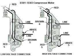 B381_connection__30689.1435075555.1280.1280 2 hp 3450 rpm air compressor electric motor 115 230 volts ~new on century ac motor wiring diagram 115 230 volts
