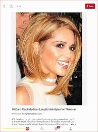 Fashion Medium Length Thick Hair Cool Short Haircuts For Women