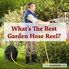 garden hose reel cart or holder