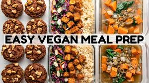Basic Fall Meal Prep Vegan Gf