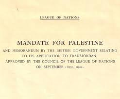 Mandate For Palestine And Memorandum By The British Government ...