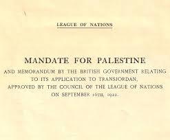 Mandate For Palestine And Memorandum By The British Government ...