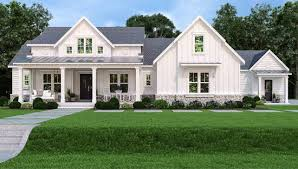 updated farmhouse style house plan 7382
