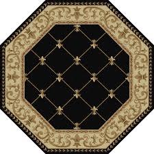 home interior great octagon area rugs artistic weavers morsse golden beige wool 8 ft rug