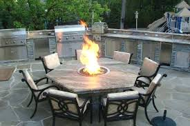 outdoor dining set with fire pit table with fire pit in middle beautiful pleasant outdoor dining outdoor dining set with fire pit