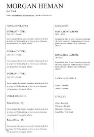 Free Resume Directory Best of Traditional Resume Template Free Traditional Resume Template Free