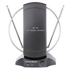 tv indoor antenna. 36db digital/analog flat tv hdtv indoor antenna uhf vhf antena+adapter+cable tv g
