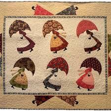 Shop Applique Quilt Patterns Pdf on Wanelo & Umbrella Girls Applique PDF Quilt Pattern, Betty Alderman Designs Download  Pattern Adamdwight.com
