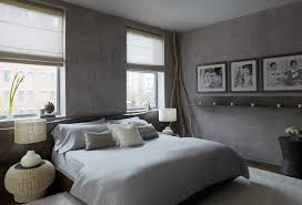 Bedroom Wonderful Simple Bedroom With Gray Color Shades Also