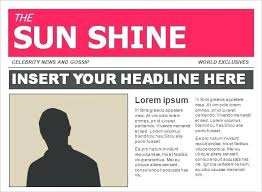 Free Newspaper Template Psd Newspaper Template Psd Front Page Layout Example 3 A Tailoredswift Co