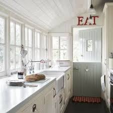 Galley Country Kitchen