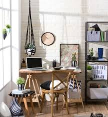 cozy home office. cozy home office nook with rustic touches e