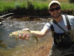 Fly-fishing Pic of Rainbow trout shared by Dustin Arnold – Fly dreamers