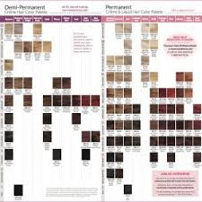 Ion Color Chart For Hair Coloring Ion Color Chart For Hair
