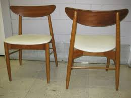 Vintage Danish Modern Dining Chairs  Dining Table Furniture - Modern dining room chair