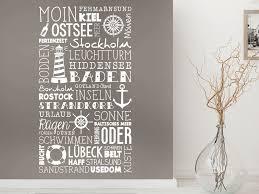 Wandtattoo Ostsee Maritime Wandgestaltung Wandtattoode